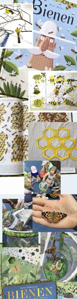 Von Bienen und Schmetterlingen